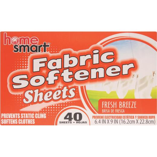 Home Smart Fresh Breeze 40 Loads Dryer Sheet