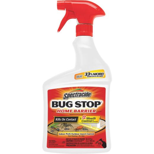 Spectracide Bug Stop Home Barrier 32 Oz. Ready To Use Trigger Spray Insect Killer
